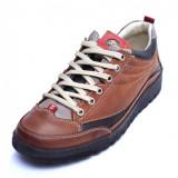 Pantofi barbati din piele naturala, JK, Gitanos, Maro, 39 EU, 40 - 45