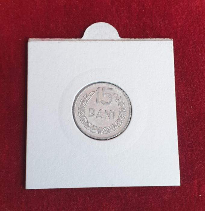 moneda 15 BanI 1975 STARE FOARTE BUNA - moneda Republica Socialista Romania