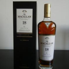 Macallan 18 Year Old sherry - editia 2018