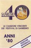 Caseta audio Various – Le Canzoni Vincenti Dei Festival Di Sanremo • Anni '80, Casete audio
