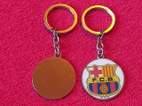 Breloc metalic fotbal - BARCELONA FC (Spania)