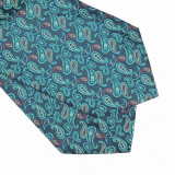 Cravata verde esarfa Charles, ONORE