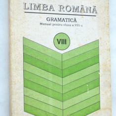 Manual Limba Romana Gramatica clasa a VIII-a 1996, Clasa 8