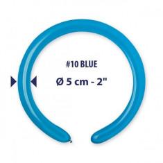 Baloane albastre modelaj profesionale 5x140cm Set 50buc