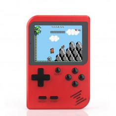 Joc retro pentru copii, display LCD, baterie reincarcabila, rosu