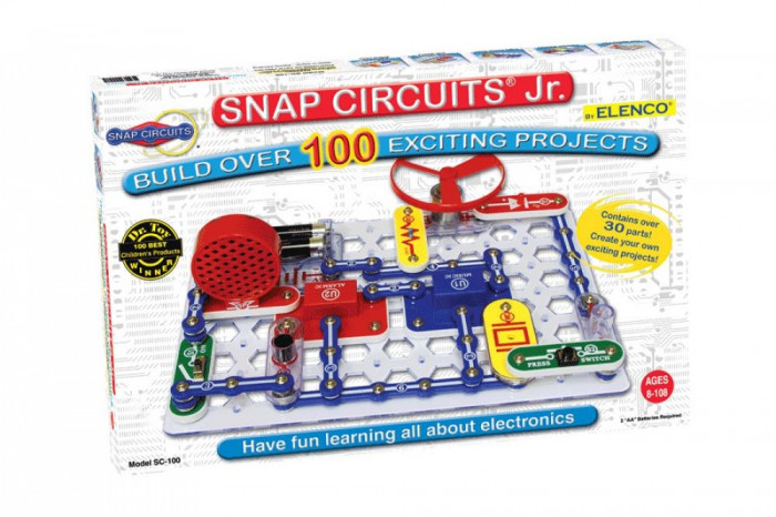 Snap Circuits Jr. 100-in-1 Experiments Kit