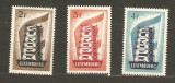 Luxembourg 1956 Europa CEPT, 2Fr thin, 3Fr MH, 4Fr MNH AC.285