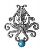 Pandantiv talisman Kraken