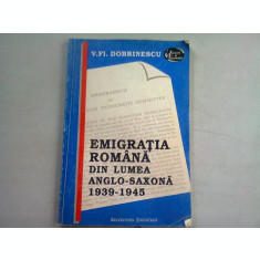 EMIGRATIA ROMANA DIN LUMEA ANGLO SAXONA
