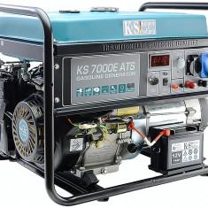 Generator cu automatizare KS 7000E ATS Könner & Söhnen , 5.5 kW