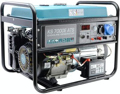 Generator cu automatizare KS 7000E ATS Könner & Söhnen , 5.5 kW foto