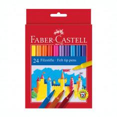 Carioca 24 culori Faber Castell 554224