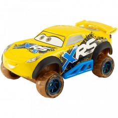Masinuta metalica Cruz Ramirez cu suspensii Cars Mud Racing
