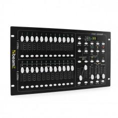 Beamz DMX-024PRO, controler DMX cu 24-canale, panou pentru controlul iluminatului