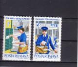 ROMANIA 1982  LP 1065  ZIUA  MARCII POSTALE ROMANESTI  SERIE  MNH