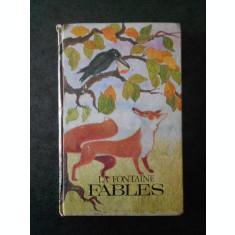 LA FONTAINE - FABLES (1970, editie cartonata)