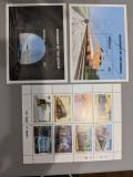 Mongolia - Timbre trenuri, locomotive, cai ferate, nestampilate MNH, Nestampilat