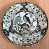 Farfurie - decorativa / de colectie - portelan Japonia - pictata manual