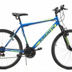 Bicicleta Mtb Kreativ 2603 Albastru 2019 L 26 inch, V-brake