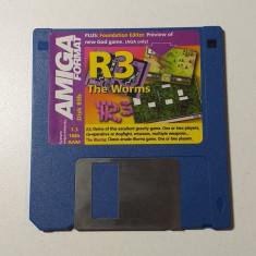 Joc AMIGA R3 + The Worms - DEMO - G
