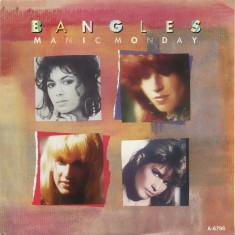 "Bangles - Manic Monday (1985, CBS) Disc vinil single 7"""
