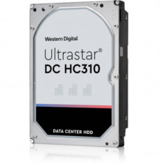 Hard disk server WD Ultrastar DC HC310 6TB SATA-III 3.5 inch 7200rpm