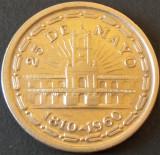 Moneda COMEMORATIVA 1 PESO - ARGENTINA, anul 1960   *cod 696 - EXCELENTA, America Centrala si de Sud