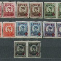 Romania 1946 - Serviciul prizonierilor de razboi - 2serii neuzate MNH
