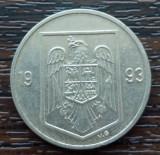 (MR3) MONEDA ROMANIA - 10 LEI 1993, MAI RARA DIN SERIE