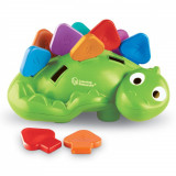 Joc de potrivire - Dinozaurul Steggy PlayLearn Toys, Learning Resources