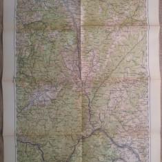 Orsova/ harta Serviciul Geografic al Armatei 1939