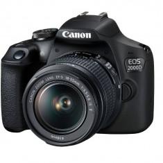 Aparat foto DSLR Canon EOS 2000D BK 18-55