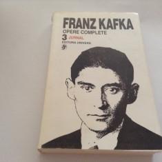 KAFKA  JURNAL  OPERE  VOL  3***R4