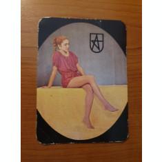 calendar de buzunar din anul 1984
