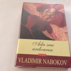 Ada sau ardoarea O cronica de familie  CARTONATA   Vladimir Nabokov,RF10/4