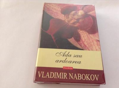 Ada sau ardoarea O cronica de familie  CARTONATA   Vladimir Nabokov,RF10/4 foto