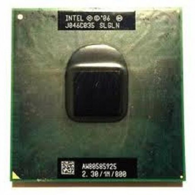 Procesor laptop folosit Intel Mobile Celeron 2300 MHz SLGLN foto
