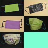 5 Măști de protectie reutilizabile - Bumbac - 2 straturi