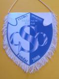 Fanion fotbal - CS Orasenesc FILIASI (dimensiuni 22x18 cm)