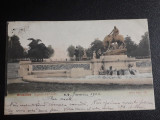 Carte postala circulata  Belgia Bruxelles,  January 1902