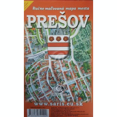 Harta pictata a orasului Presov
