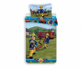 Set de pat Single Ranforce Fireman Sam
