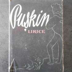 A. S. PUSKIN - LIRICE
