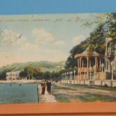 TURCIA - CONSTANTINOPOLE - FALEZA BOSFOR - 1913 - CIRCULATA.