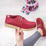Pantofi dama casual Piele rosii Ganemi-rl
