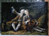 48 Pictura clasica Tablou vechi tablou antic tablou retro Tablou vintage 55x71cm, Portrete, Ulei, Realism