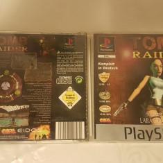 [PSX] Tomb Raider featuring Lara Croft PLATINUM - joc original Playstation 1 PS1