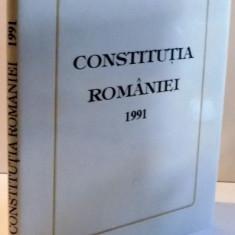 CONSTITUTIA ROMANIEI 1991 , 1992