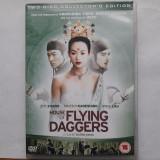 "DVD dublu ""House of Flying Daggers"" (Zhang Yimou 2004, ed. colectie 2005), Engleza"