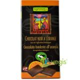 Ciocolata Amaruie Vegana Cu Portocale Si 55% Cacao Ecologica/Bio 80g